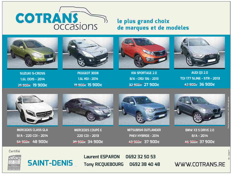 COTRANS OCCASIONS